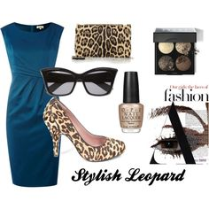How to wear leopard shoes.