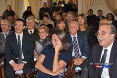 TARAStv: ROBERTA VINCI. BENEMERENZA ED ENCOMIO SOLENNE NELL...