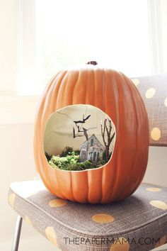 The best pumpkin decorating ideas for fall.