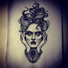 """ถูกใจ 214 คน, ความคิดเห็น 3 รายการ - Ma Reeni (@ma_reeni) บน Instagram: """"⚡️ for a client⚡️ #tattoosketsch #tattoos #tattoosnob #tattooworkers #drawing #sketsch #ntgallery…"""""""