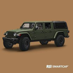 All The Jeep Gladiator Needs Is A Bed Cap | Muscle Cars & Trucks Wrangler Pickup, Jeep Pickup Truck, Jeep Wrangler, Truck Bed Caps, Sierra Truck, Jeep Gladiator, Jeep Cars, Ford Expedition, Jeep Jk