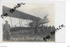 62 HENIN LIETARD AVIATION AVION CAPTURE  1916 CARTE PHOTO - Henin-Beaumont
