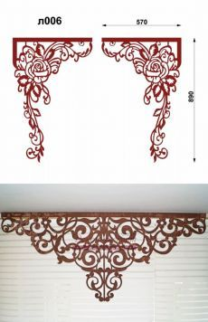 Curtain Styles, Curtain Designs, Window Pelmets, Thermocol Craft, Cnc Cutting Design, Ornament Template, Wood Curtain, Wedding Stage Decorations, Decorative Panels
