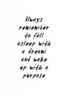 dreams become purpose