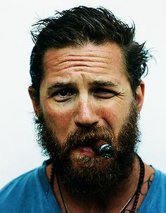 Tom Hardy is one of the most beautiful bearded creatures ever.