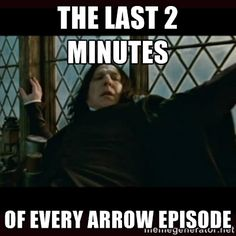 The last 2 minutes of Arrow