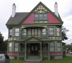 George Richardson House (1887) 311 Barnum Ave East Bridgeport