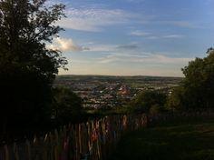 Glastonbury. The best place on earth. #Glastonbury #Glasto2014 #Sunset