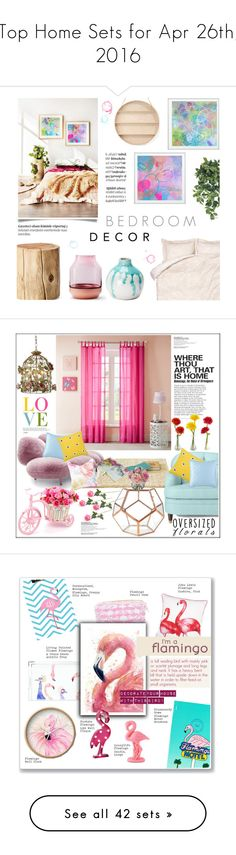 """""""Top Home Sets for Apr 26th, 2016"""" by polyvore ❤ liked on Polyvore featuring interior, interiors, interior design, home, home decor, interior decorating, By Lassen, West Elm, H&M and Muuto"""