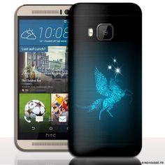 Pour M9 HTC - Coque Licorne. #coque #m9 #animal