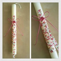 Easter Candle By Stella Handicrafts | Πασχαλινή Λαμπάδα