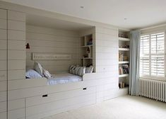 12 Wood-Paneled Alcove Beds, Winter Edition Remodelista/ An alcove bed in Annabel's House in London.