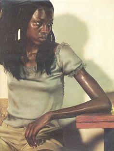aleworldaddict: 'Breathless' Oluchi Onweagba by Steven Klein for W Magazine December 1998 Beautiful Black Women, Simply Beautiful, Hari Nef, Kenneth Anger, The Coveteur, Fc B, W Magazine, In Hollywood, Mona Lisa