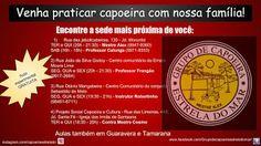 Capoeira Estrela do Mar - Londrina PR: Nossos endereços