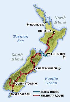 Cruise Ship Rental Cars New Zealand