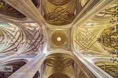 Crucero de la Catedral de Santa María de Segovia by neobit #Architecture #fadighanemmd