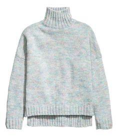 Oversize-Rollkragenpullover | Mehrfarbig | Ladies | H&M DE