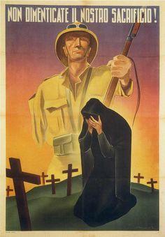 "Italian WW2 ""Do not forget our sacrifice."""