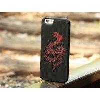 Kerby Rosanes Geometric Cobra Print - Slim Clear Wood Case - iPhone 7 Plus Wood Cases - Shop  | Custom Wood Phone Cases, Covers & Skins for Apple iPhone, Samsung Galaxy, Nexus
