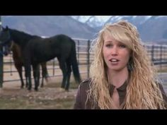Wow this is a must watch, her story is amazing, even if you aren't into horses and rodeo, ...The Ride with Cord McCoy: Inspirational Cowgirl Amberley Snyder - YouTube (Disclaimer:Found on youtube-nothing belongs to me.)