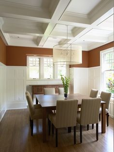 white dining room wainscoting photos | White Wainscoting Design, Pictures, Remodel, Decor and Ideas - page 5