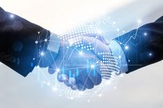Business man handshake with effect global world map network link connection and graph chart of stock market graphic diagram Photo Innovative Research, Business Stock Photos, Digital Asset Management, Global World, Financial Markets, Third Way, Blockchain Technology, Digital Technology, Double Exposure