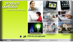 ACN Products & Services U. - Digital Video Phone, Home Services, Communications, Portfolio Small Computer, Right To Education, Phone Service, Digital, Opportunity, Flag, Wellness Products, Speed Internet