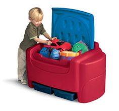 Little Tikes Sort N' Store Toy Chest - Primary Colors