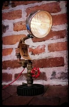 Car headlight, Upcycling: making new lamps from old stuff