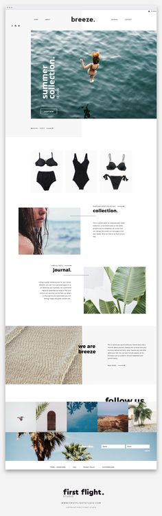 A Template Website by First Flight Studio