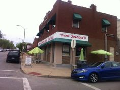 Home of the HOME MADE Toasted Ravioli among other great Italian foods.  Mama Toscano's.  We recommend it!