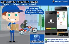 Million Minds offers a complete peace of mind in staffing solution not only in Blue Collar Workforce Hiring but also in every Temp & Contract Staffing any place in India. Call us at: 9599192010 or mail us on -info@million-minds.com