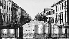 Seen from the entrance of St. Old Photos, Vintage Photos, Cities In Africa, St George's, City Landscape, Most Beautiful Cities, Back In Time, Old Buildings, Cape Town