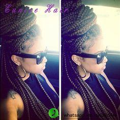 20strands/pack box braids hair 3S Freetress Crochet Box Braid Hair
