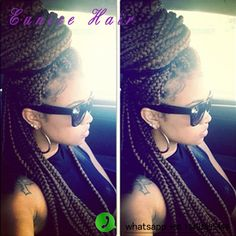 20strands/pack box braids hair 3S Freetress Crochet Box Braid Hair