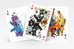 New Playing Cards Deck Created by Designers from all Around the World – Fubiz Media