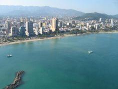 Espectacular aérea de Puerto la Cruz edo Anzoátegui #Venezuela