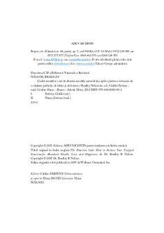 Bradley Nelson - Codul Emotiilor Pdf