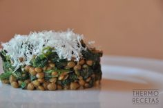 Ensalada de lentejas y espinacas Going Vegetarian, Risotto, Side Dishes, Grains, Salads, Rice, Favorite Recipes, Healthy Recipes, Meals