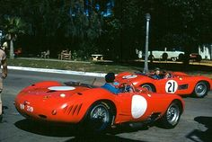 Maserati at Tech Inspection - Sebring 1957 | This is at tech… | Flickr