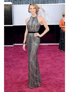 stacey keibler.... dream friend because 1) she's dating george clooney 2) that dress. and 3) she's dating george clooney.