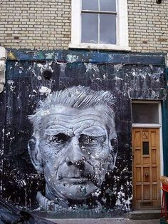 Samuel Beckett is waiting for... I'm not gonna say it.