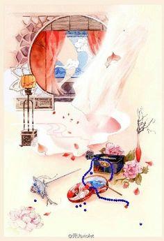 [Share ảnh] – [Phong cảnh] – Tranh nghệ thuật Trung Quốc cổ – Part 1 | Phong Kiều Dạ Bạc