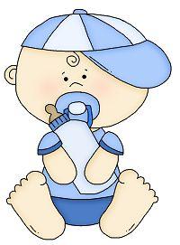 Dibujos. Clipart. Digi stamps - Baby Boy