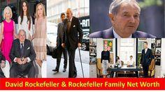 David Rockefeller & Rockefeller Family Net Worth 2017