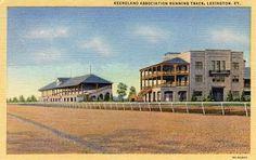 Keeneland Association Racing Track, Lexington KY