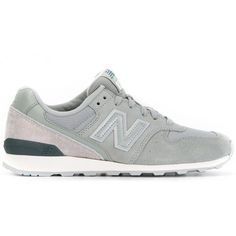 New Balance 'Model 996' sneakers (1.155.245 IDR) ❤ liked on Polyvore featuring shoes, sneakers, grey, grey shoes, gray shoes, gray sneakers, new balance sneakers and new balance trainers