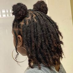 Short Locs Hairstyles, Girls Natural Hairstyles, Twist Braid Hairstyles, Baddie Hairstyles, Girl Hairstyles, Dreadlock Styles, Dreads Styles, Curly Hair Styles, Natural Hair Tips