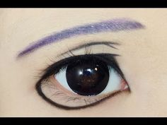 Tutorial : Anime Eye Makeup • Chrona