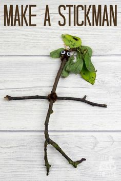 Make your own Stickman Why not extend your walk by collecting sticks and other nature treasures and making a Stickman with your children. A great DIY nature kids craft.